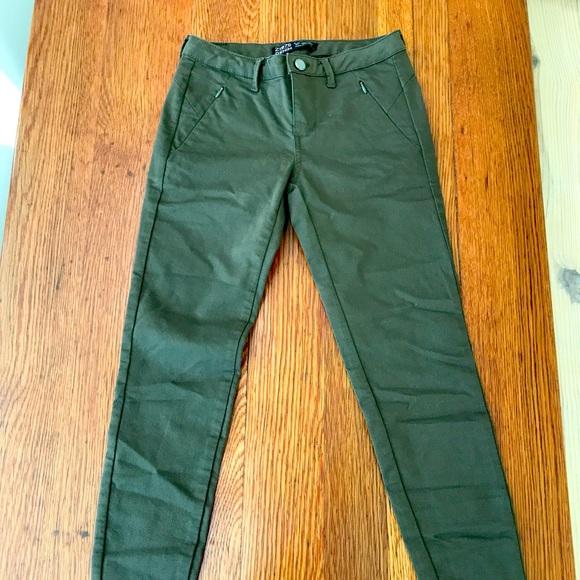 Z1975 Zara Army Green Denim